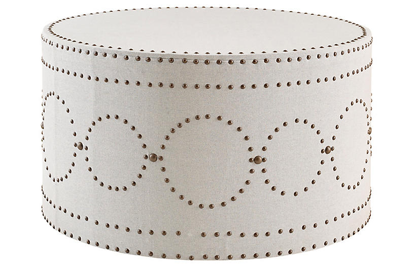 Sienna Coffee Table, Ivory