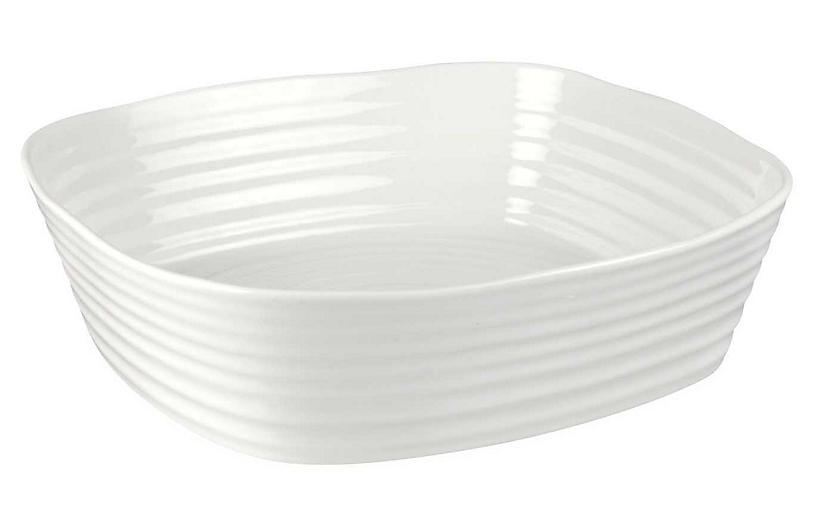 Sophie Conran Square Roasting Dish, White