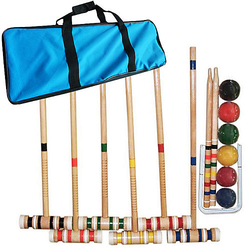 Croquet Set w/ Carrying Case