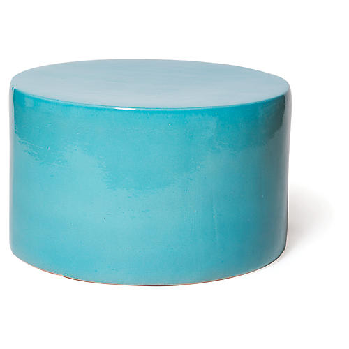 Baby Caroness Outdoor Coffee Table, Turquoise