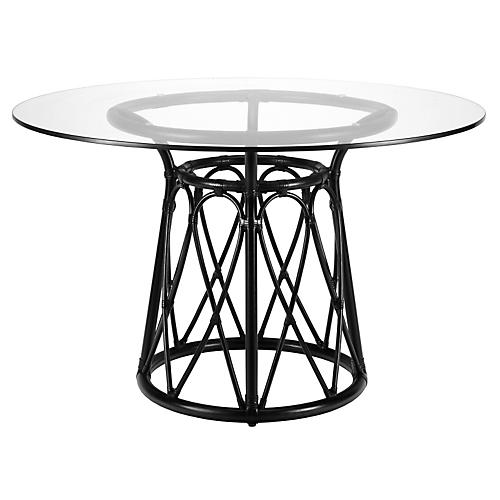 Ella Round Dining Table, Clove