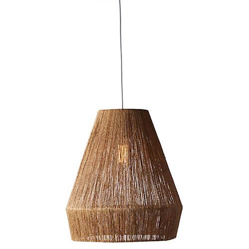 Collins 1-Light Pendant, Natural