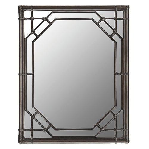 "Ciaran 36""x48"" Oversize Mirror, Clove"