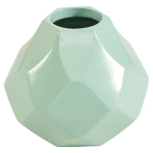 "5"" Sydney Mod Vase, Green"
