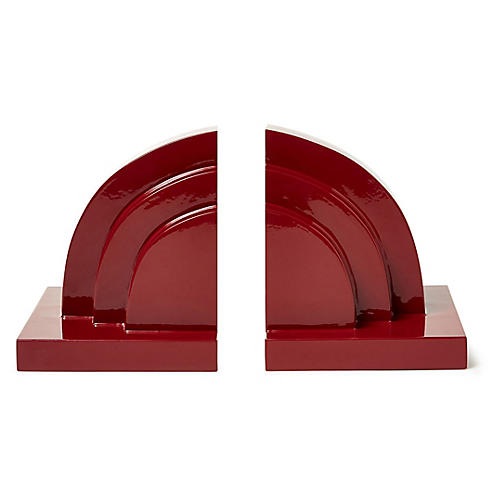 S/2 Henri Bookends, Berry