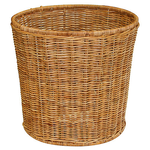 "13"" Berg Wastebasket, Natural"