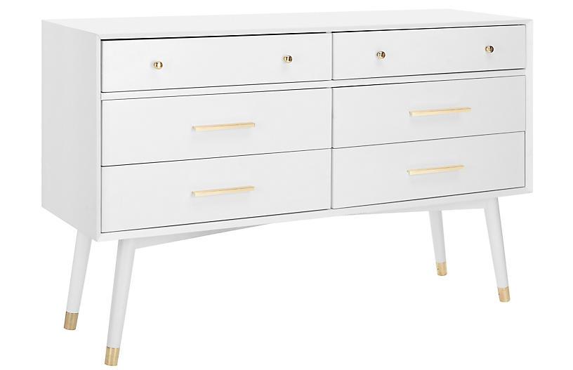 Madden Dresser, White