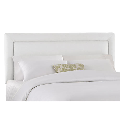 Collins Headboard, White