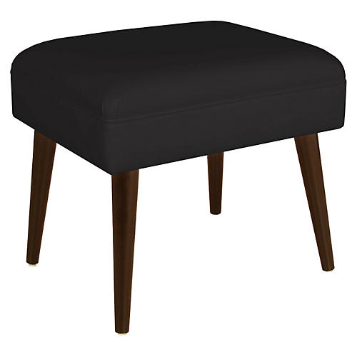"Brenna 21"" Stool, Black Twill"