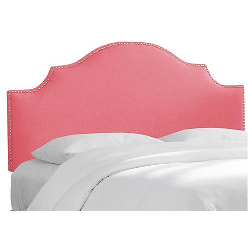 Miller Headboard, Coral Linen