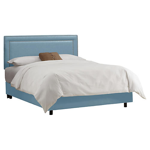 Bardot Bed, Light Blue