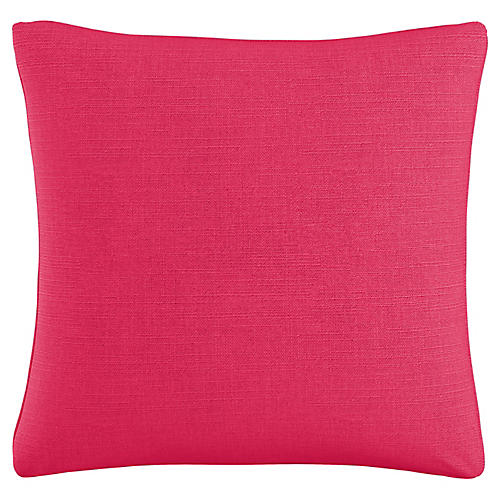 Abigail 20x20 Pillow, Fuchsia