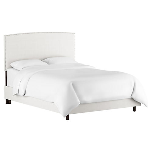 Everly Bed, White