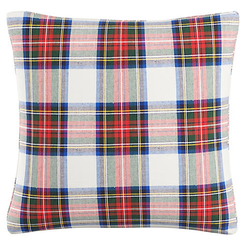Montclair 20x20 Pillow, Red/White