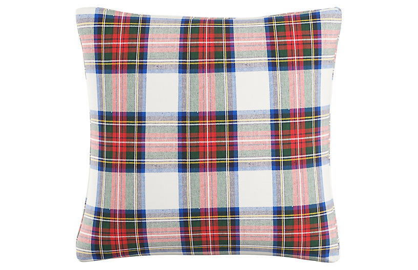Montclair 20x20 Pillow - Red/White