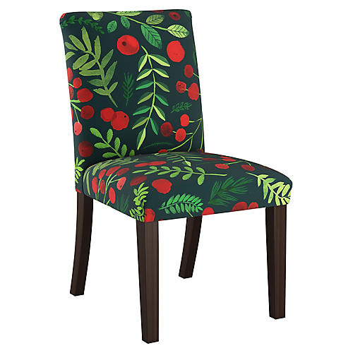 Shannon Side Chair, Holly Linen