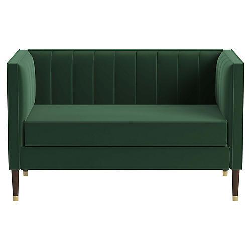 Daron Settee, Emerald Velvet
