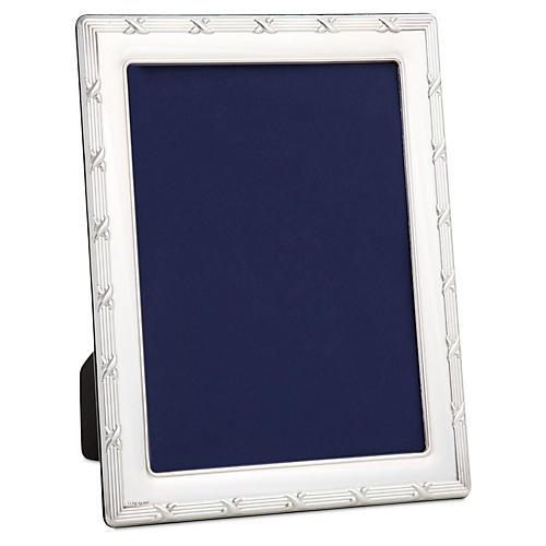 Sterling Silver Ribbon Frame, 4x6