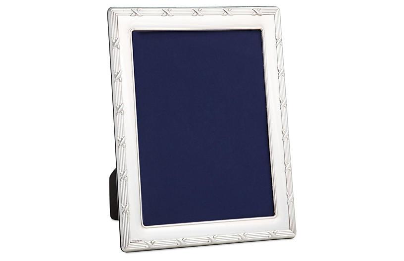 Sterling Ribbon Frame, 4x6