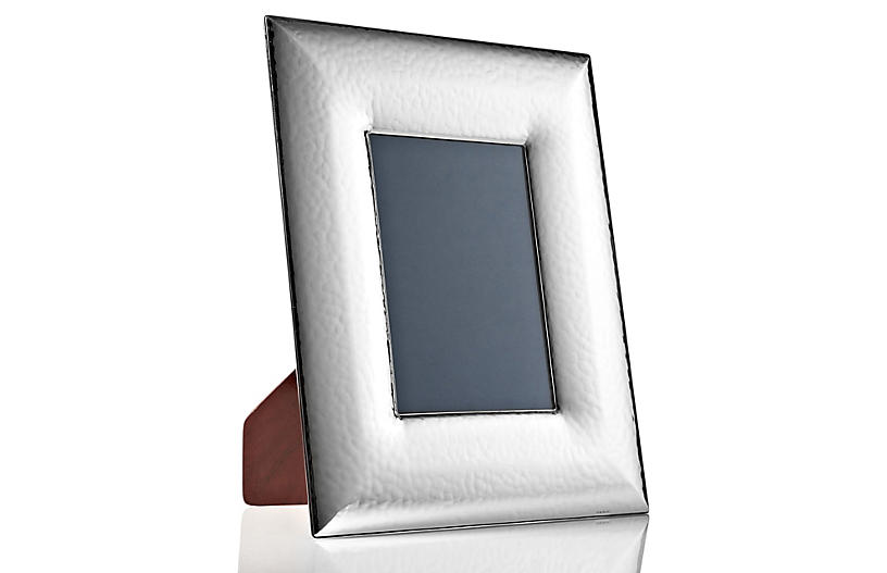 Sterling-Silver Wide Frame, 8x10 - Picture Frames - Home Accents ...