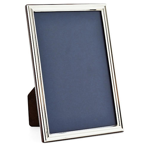925 Sterling-Silver Grooved Frame, 4x6