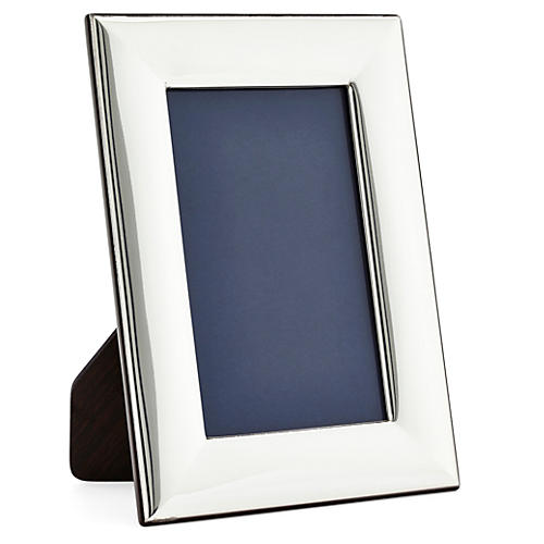 Sterling-Silver Plain Frame, 8x10