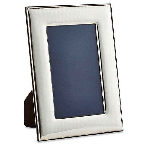 Sterling Wide Hammered Frame, 5x7