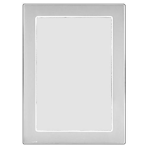 Desoto Picture Frame, Silver