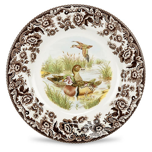 Wood Duck Dinner Plater