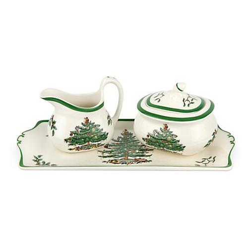 3-Pc Porcelain Serving Set
