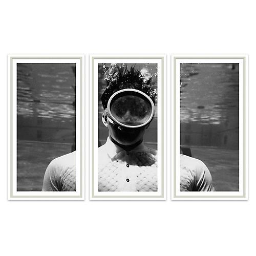 GQ, Man Underwater Triptych, 1961