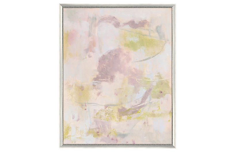 Pale Pink and Green