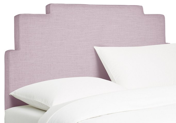 Paxton Headboard Lilac Linen Headboards Under 400 Affordable Finds One Kings Lane