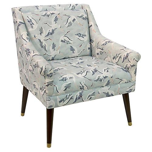 Carson Accent Chair, Cranes