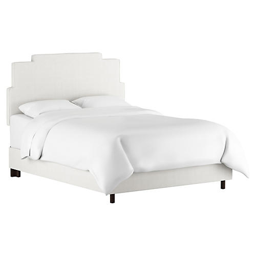 Paxton Bed, White