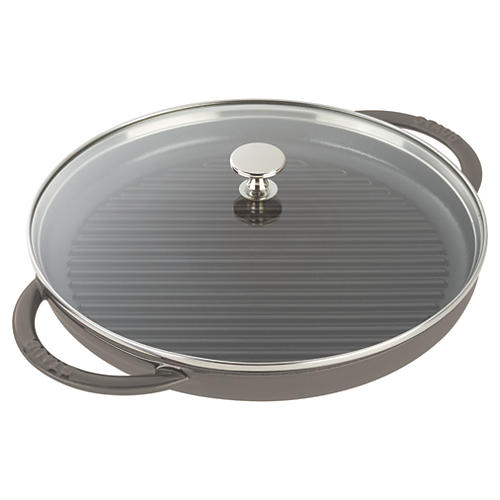 Round Steam Grill, Graphite Gray