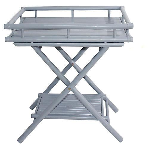 Trayta Side Table, Light Gray