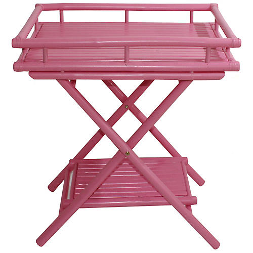 Trayta Side Table, Pink