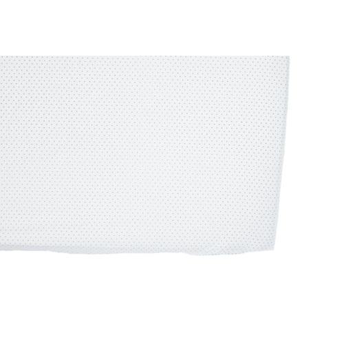 Pin Dot Baby Crib Sheet, Gray