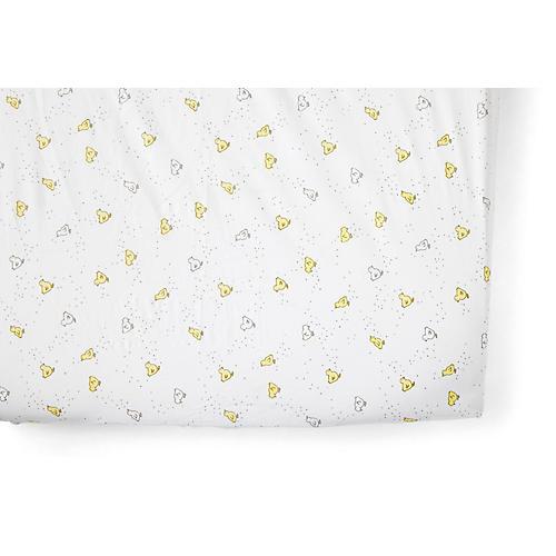 Chick Baby Crib Sheet, Soft Yellow