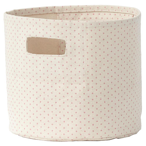 Pin Dot Kids' Mini Storage, Pink