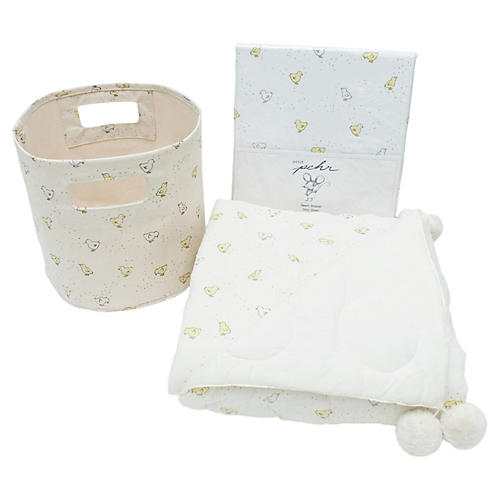 Baby Chick Baby Gift Set, Mist/Multi
