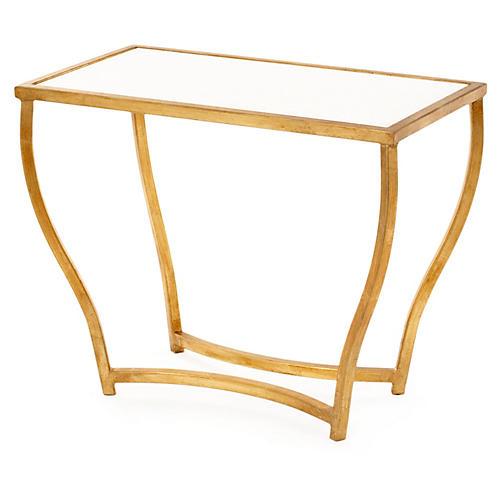 Keeling Granite Side Table