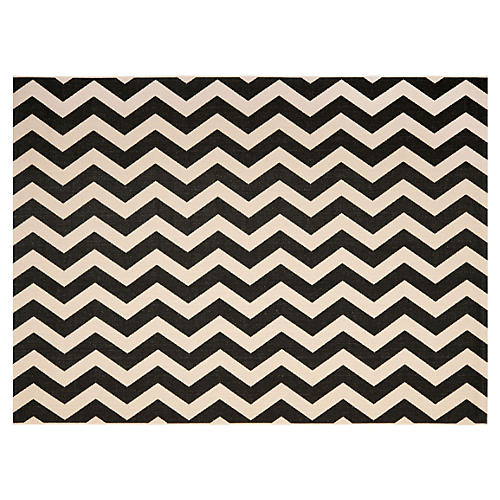Celina Outdoor Rug, Black