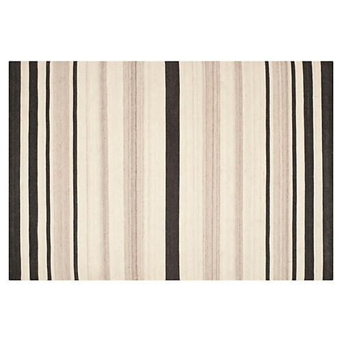 Labis Dhurrie Rug, Natural