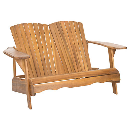 Outdoor Kingston Bench, Natural