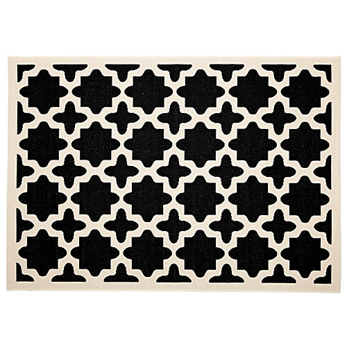 Cece Outdoor Rug, Black