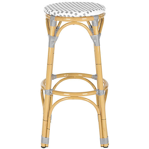 Odeon Barstool, Gray