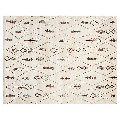 Jasper Rug, Beige/Brown