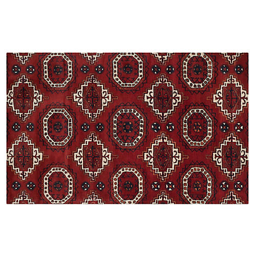 Chrissy Rug, Red